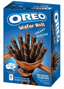 Oreo Wafer Roll Chocolate 54g Rurki Oreo Czekolada