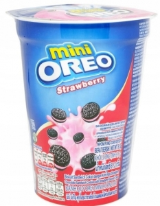 Ciastka OREO Mini Strawberry z Indonezji 67g