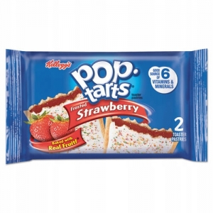 Pop Tarts strawberry Ciastka z USA Truskawkowe